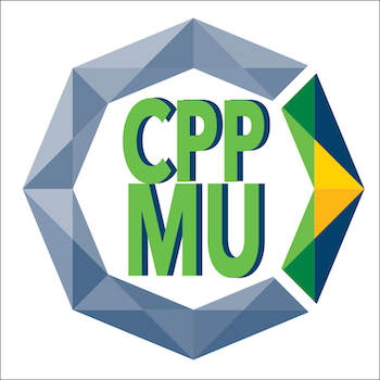 university octagon logo with nested letters CPPMU